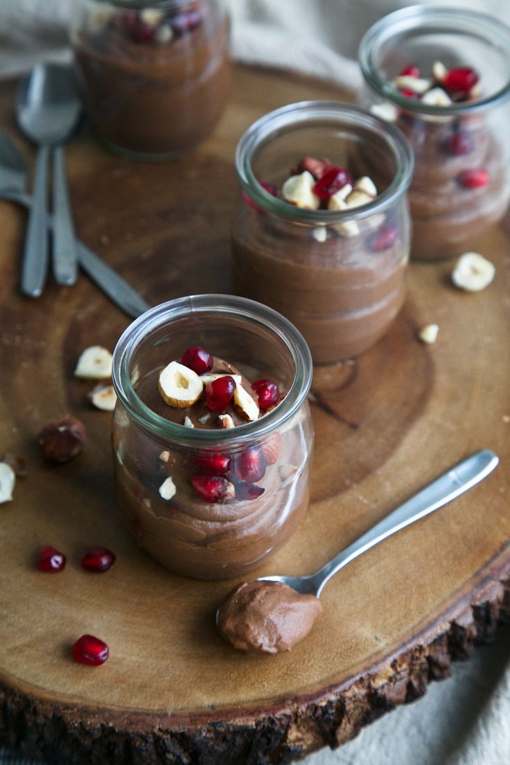 Mexican Chocolate-Avocado Mousse // The Green Life