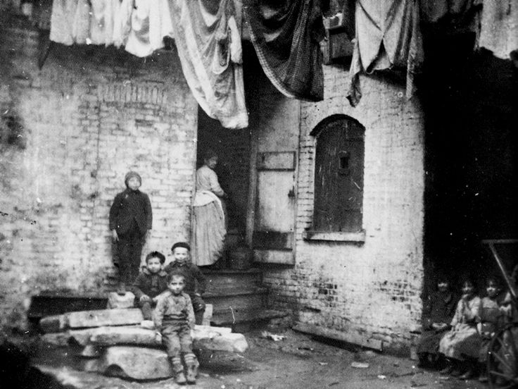 Jacob Riis Pictures of Girl | Porches, Points and Poverty: How Other Halves Lived