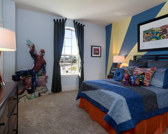 ideas for kids rooms spiderman at the watercress model like that spiderman has taken over the whole room