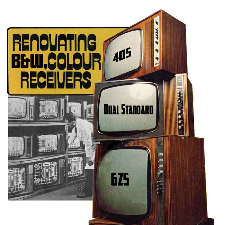 Our Vintage TV collection