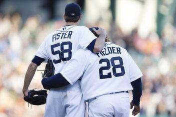 Detroit Tigers....Doug Fister & Prince Fielder