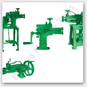 Swaging Machine - Our industrial swaging machine is used for altering the dimension of cylindrical or plain metal sheet for curling and wiring. This hand operated mechanical machine or motorized swaging machine is used in various forging operations executed on flat sheet metal as well on cylindrical rods. We provide exclusive range of swaging machines for metal working alteration jobs.