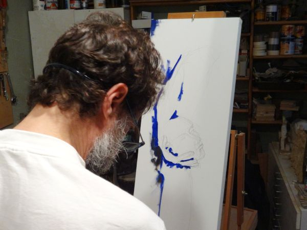 Pintura a l'oli / Oil #paint / #Pintura al óleo http://laufeliu.com/