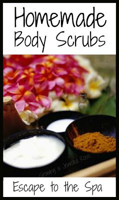 DIY Body Scrubs by bathactivitiesforkids: Make time for yourself. These homemade body scrub recipes are made from simple ingredients with little cost. #DIY #Body_Scrub