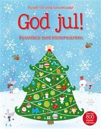 Det här är en stämningsfull julpysselbok med över 800 klistermärken. Med den här boken kommer ditt barn att få fullt upp med roliga uppgifter som till exempel att fylla tomtens säck med klappar, bygga tokiga snögubbar, dekorera en julgran, fylla nallebageriet med pepparkakor och mycket mer. Här finns också en julkalender där man sätter in ett nytt klistermärke varje dag.