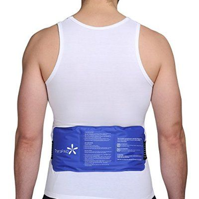 """Flexible Ice Pack with Wrap for Hot & Cold Therapy - Reusable Gel Pack for Pain Relief 