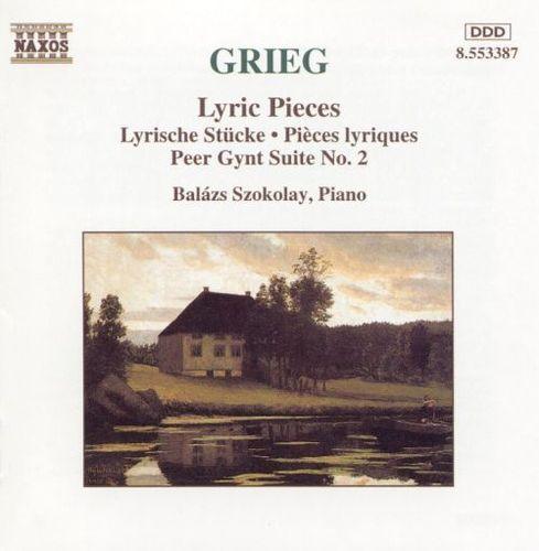 Grieg: Lyric Pieces; Peer Gynt Suite No. 2 [CD]