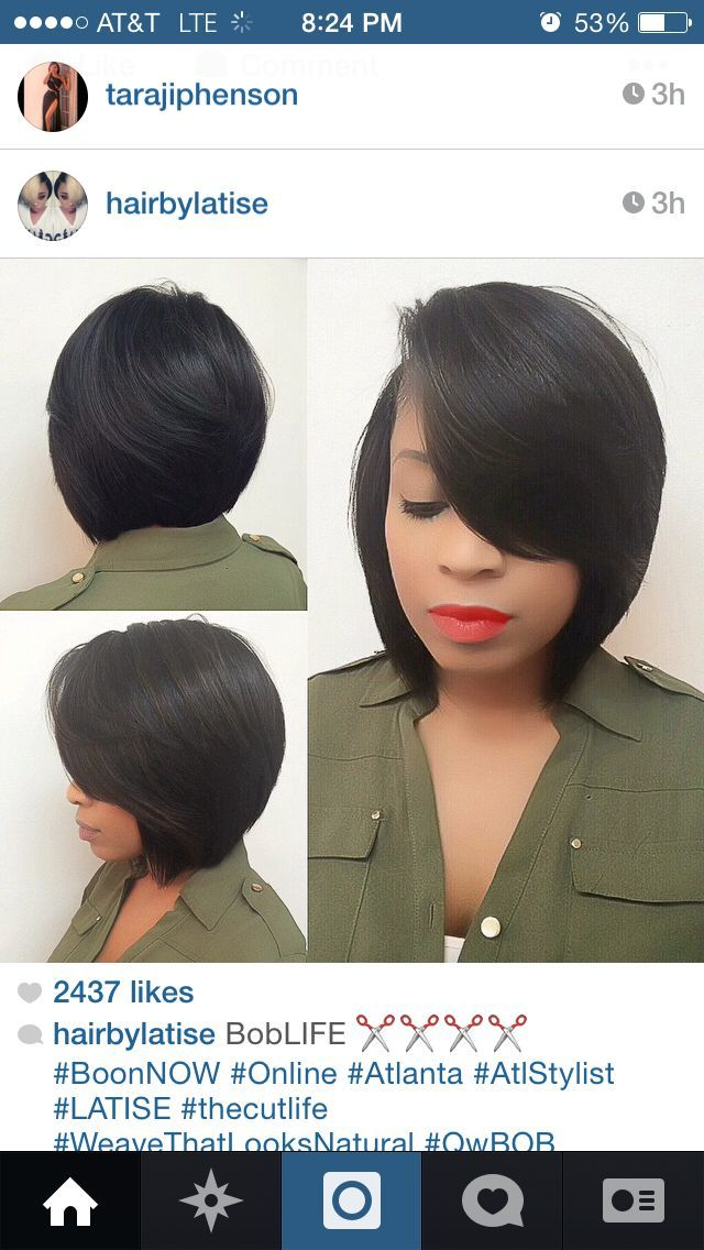 Human Hair Bob Wigs for African American
