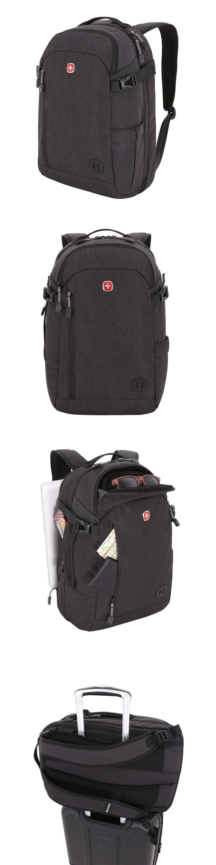 Backpacks and Bookbags 169292: New Swiss Gear Getaway Gray Collection Weekender Laptop Backpack School No Tax -> BUY IT NOW ONLY: $49.99 on eBay!