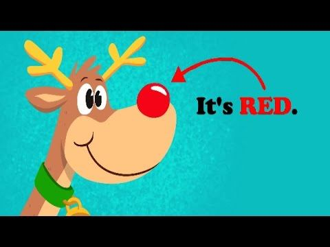 Rudolph's nose is a silly Christmas song for kids to practice colors. Great for young learners, kindergarten, preschool and the ESL / EFL classroom. Download...