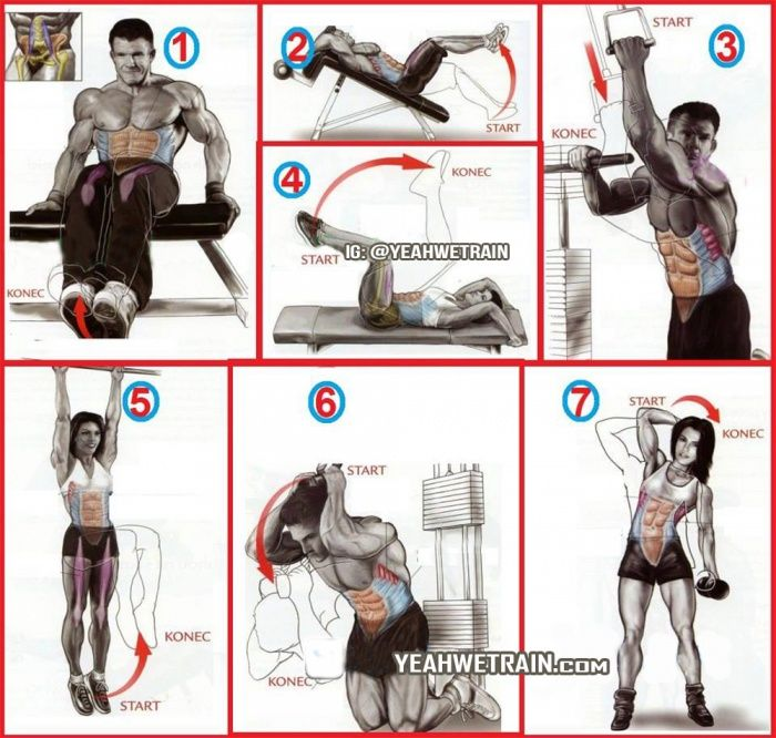 Hardcore Sixpack Workout - Healthy Fitness Ab Exercise Core Arms - FITNESS HASHTAG - Best Fitness & Bodybuilding Information