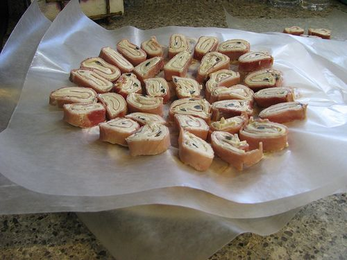 Easy Party Tortilla Pinwheels - Appetizer Recipe