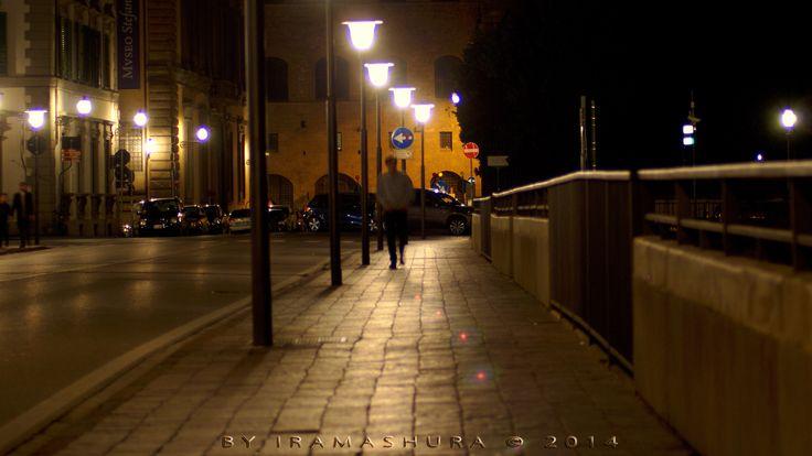 Ponte alle Grazie CITY IN THE NIGHT by iramashura 2014, FIRENZE, TOSCANA, ITALIA, 20/12