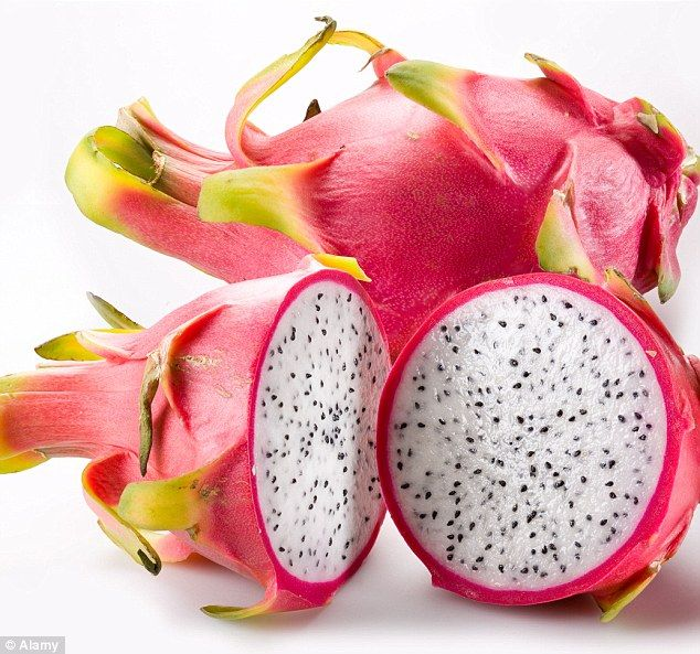 Grown from a cactus, this peculiar pink fruit - also known as a pitaya - is packed with vitamins