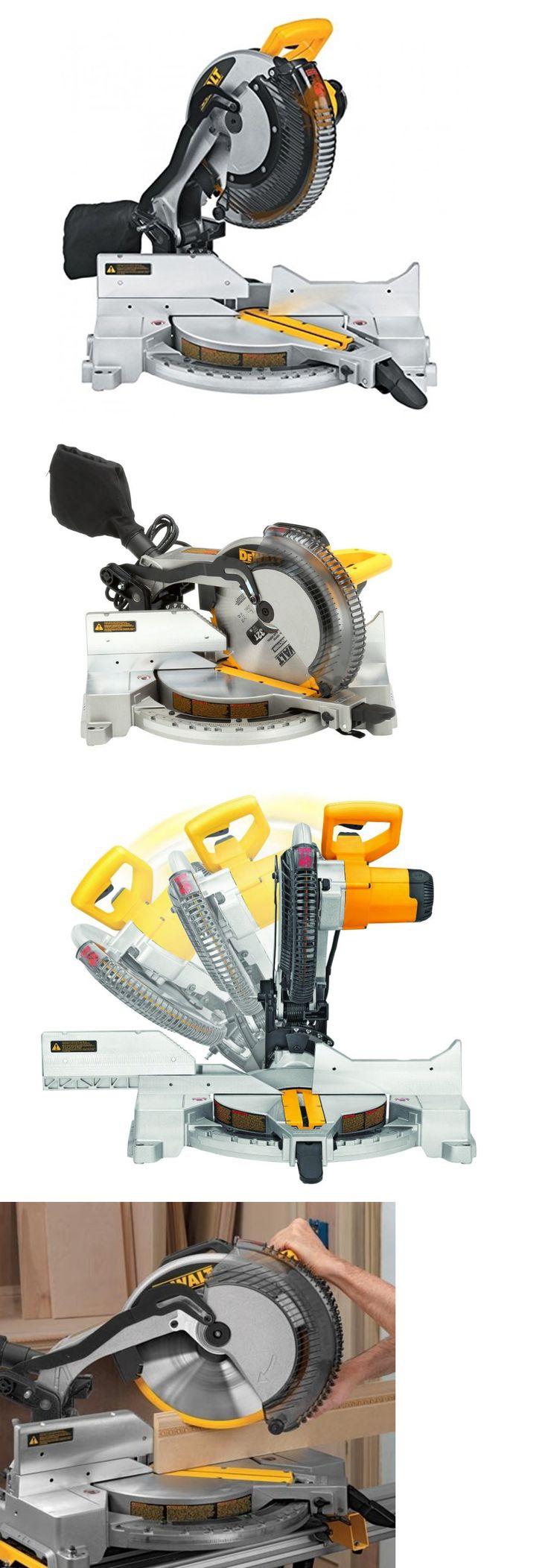 Miter and Chop Saws 20787: Dewalt - Single-Bevel Compound Miter Saw 15-Amp 12-Inch (Dw715) -> BUY IT NOW ONLY: $309 on eBay!