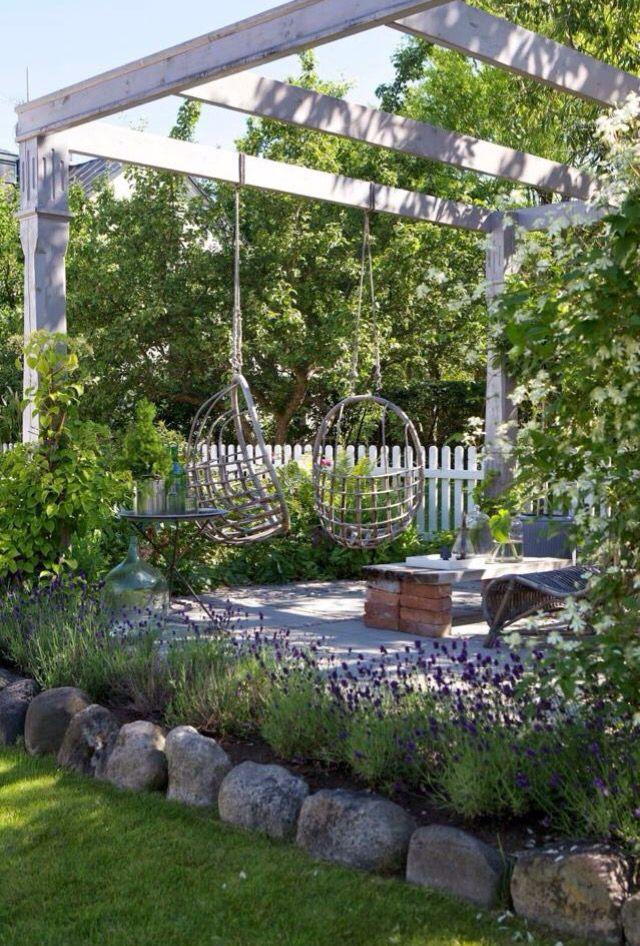 Een heerlijk groene tuin