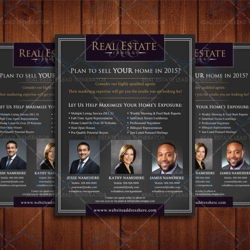 Clean Real Estate Company Marketing Design Template