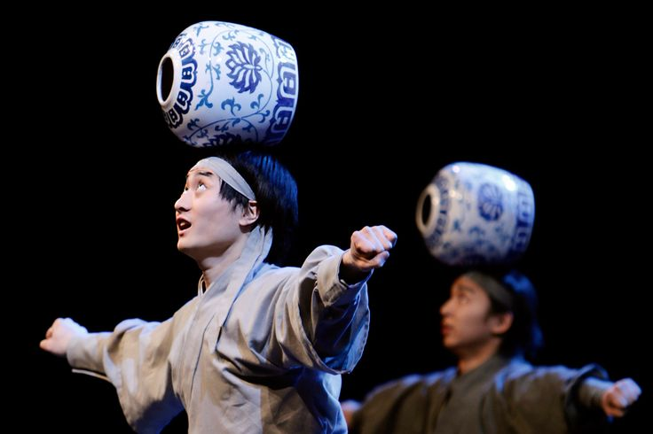 acrobats chinese juggling pot | Circus acts | Valhalla Festival