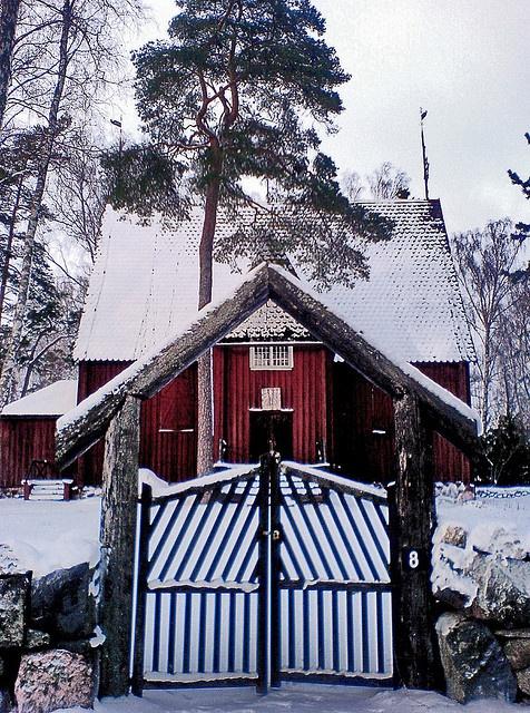 Karuna Church (1685) Helsinki, Finland
