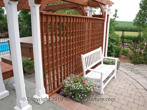 88 best images about carport conversion ideas on pinterest for Living screen fence
