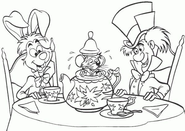 Dibujos Para Colorear Dificiles De Disney Con Imagenes Paginas