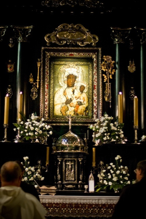 Our Lady of Czestochowa in Poland this image and OL Ostrobrama are my two most favored images of Our Lady.