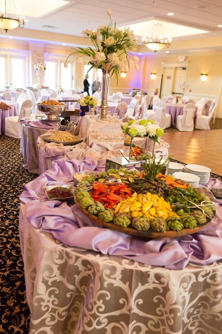 Buffet Stations By Avenue Catering At The Pavillion Olde Towne Athletic Club In Marietta Ga