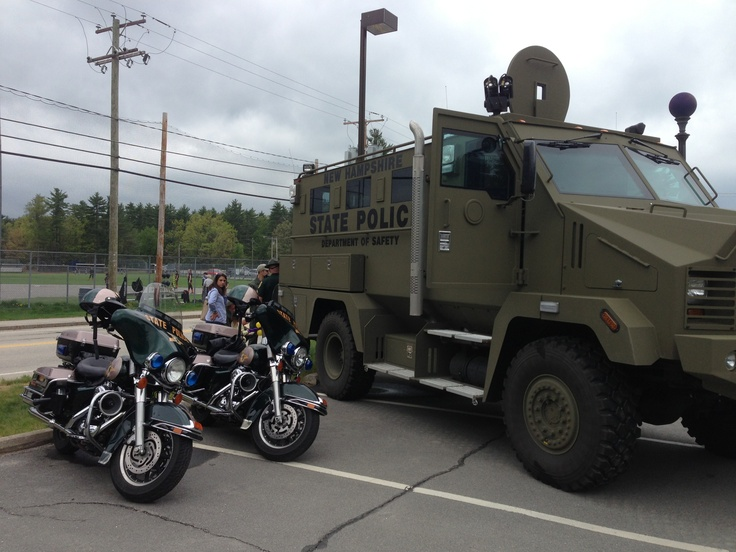 New hampshire state police armored vehicle and for Vermont motor vehicle laws