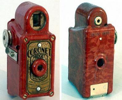 Las #cámaras fotograficas Antiguas #coronet
