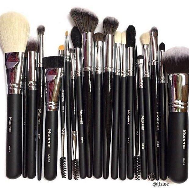Empieza tu colección de #brochas #Morphe #MorpheBrushes #Makeup #Maquillaje