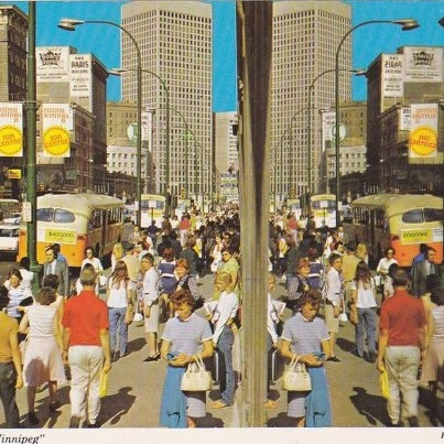70's downtown Winnipeg