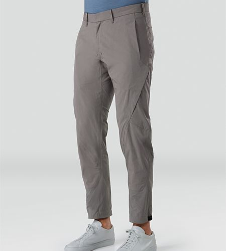 Apparat Pant Men's Trim fitted, articulated pants with cuff adjuster, constructed with a cotton/nylon canvas for durability and resilient stretch fabric for comfort and ease of motion.