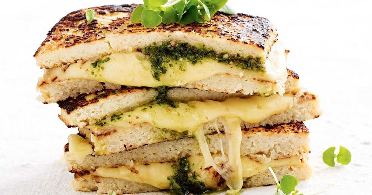 Gluten free never looked so good, thanks to this easy cheesy cauliflower toastie with no bread.