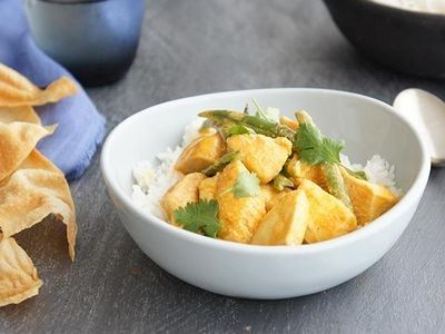 Easy Yoghurt Curry Chicken