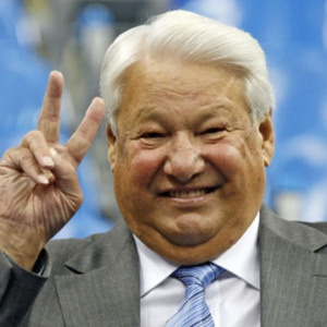 Apr 23rd, 2007 - Boris Yeltsin (b. 1931), first President of the Russian Federation died at 76.  Boris Nikolayevich Yeltsin was a Russian politician and the first President of the Russian Federation, serving from 1991 to 1999. Boris Yeltsin died of congestive heart failure. He was buried in the Novodevichy Cemetery on 25 April 2007, following a period during which his body had lain in state in the Cathedral of Christ the Saviour in Moscow.