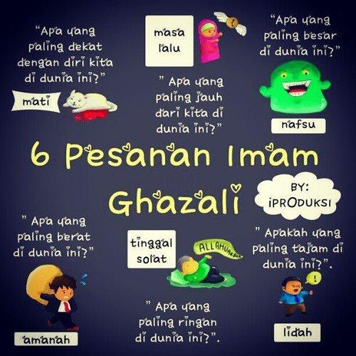 Pesanan Imam Ghazali