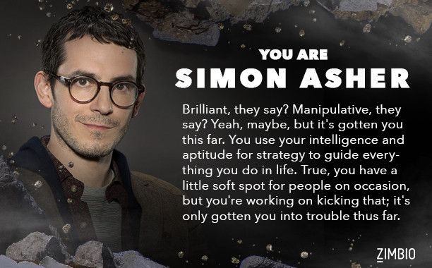 I'm Simon Asher. Which 'Quantico' character are you? - Quiz