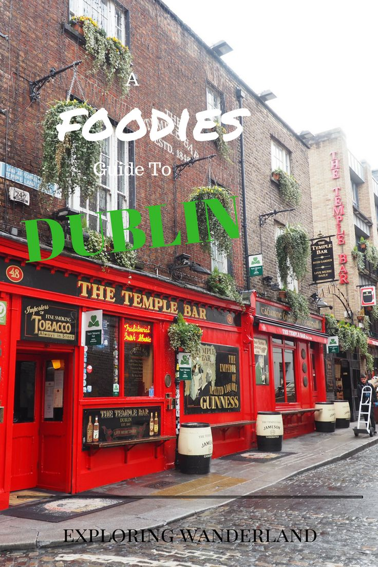 Did someone say food? Read along as Brooke takes you on a food journey through Dublin, Ireland.