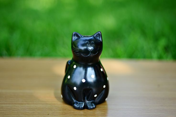 Cat soapstone sculpture hand crafted  soapstone from Africa
