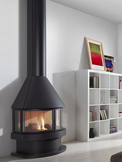 M s de 25 ideas incre bles sobre chimeneas metalicas en - Chimenea de exterior ...