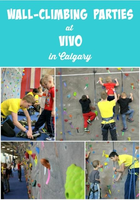 Wall-Climbing Parties at Vivo (formerly Cardel Place) in Calgary!