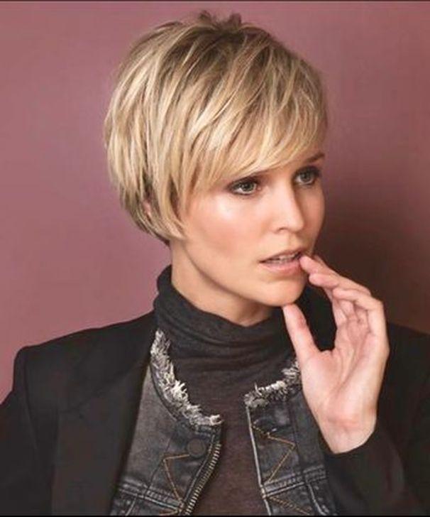 99 Schöne Kurze Shaggy Herbst Winter Frisuren Ideen Für Frauen Blondes Haar