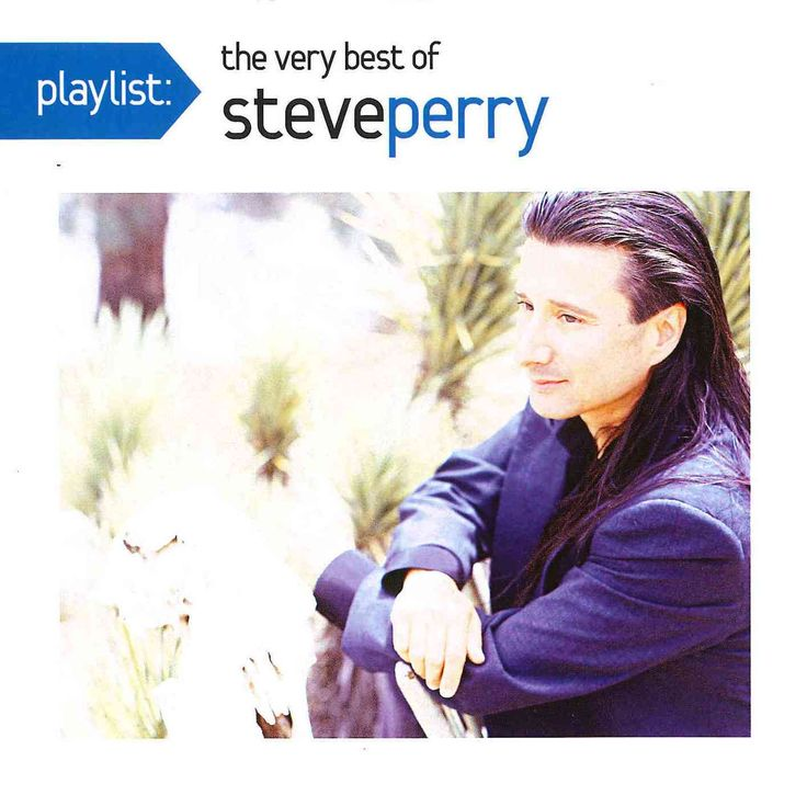 """Playlist: The Very Best of Steve Perry features 14 tracks defined on the back jacket as """"the life-changing songs, the out-of-print tracks, the hits, the fan favorites everyone loves, and the songs tha"""