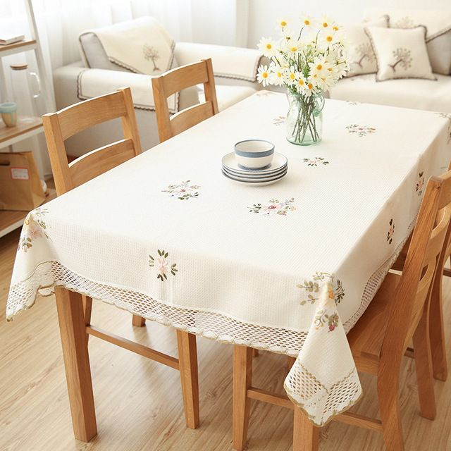42+ Decorating your elegant dining table with a tablecloth Best Choice