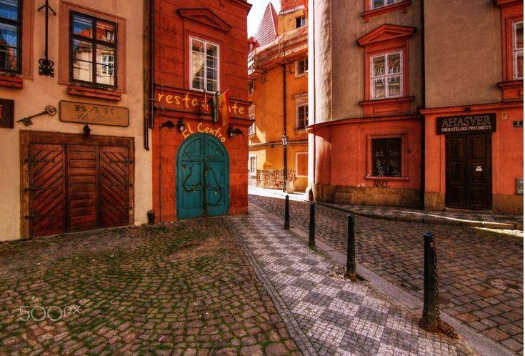 De Malá Strana is een van de oudste wijken van Praag