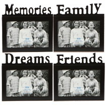 I could get a bunch of these and fill them with old family photos. They will serve as table centerpieces and then people can take them home at the end of the reunion. I can even have extras so they can put the picture we take from this reunion in them.