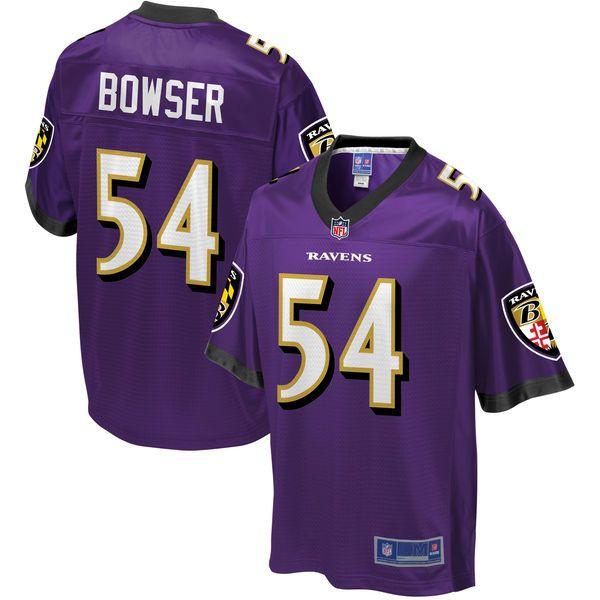 Tyus Bowser Baltimore Ravens NFL Pro Line Youth Player Jersey - Purple - $74.99