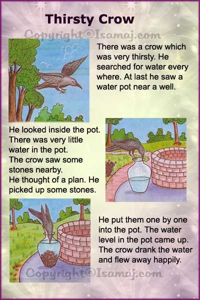 Moral Stories: Thirsty Crow