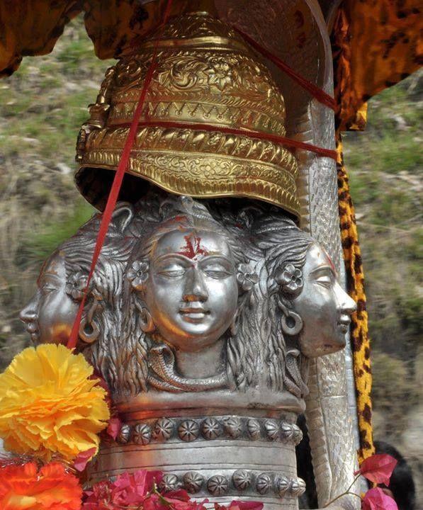 Great #Lord #Shiva - #Kedarnath Shrine!
