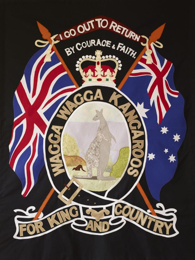 The story of the making of the Kangaroo March Banner for the Centenary of Gallipoli in 2015.